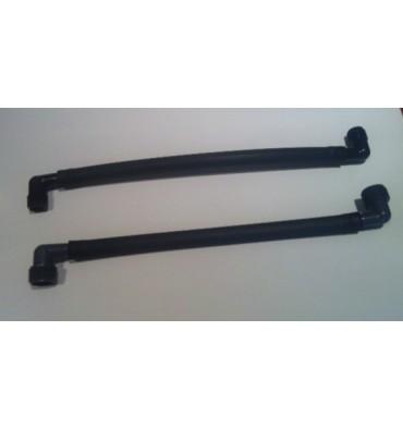 Conector flexible difusor y aspersor