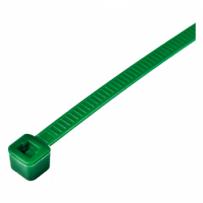 Bridas de nylon verdes