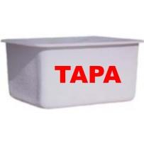 Tapa depósito poliester rectangular