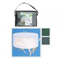 Funda protección mesa redonda y sillas