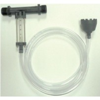 Venturi en PP con caudalímetro y kit aspiración