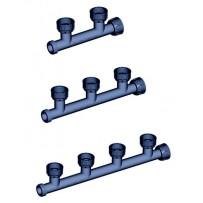 Colector PVC electroválvulas