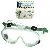 Gafas protección integral EN166 con válvulas