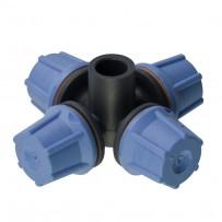 Nebulizador bajo caudal FLF cuatro salidas