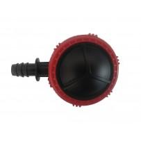 Válvula de lavado lateral goteo 16 mm