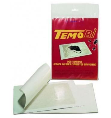 TemboBi Trampa adhesiva ratas, ratones e insectos