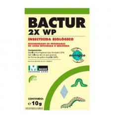 Insecticida biológico BACTUR 2X WP Massó
