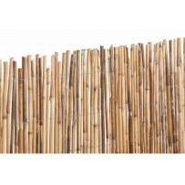 Bambú entero cerramiento y ocultación