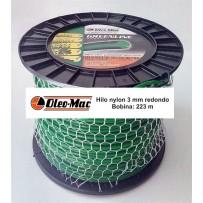 Bobina hilo nylon desbrozadora Oleo-Mac