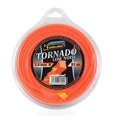Dispensador hilo nylon desbrozadora TORNADO Garland 2,4 mm