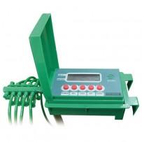 Sistema automático de riego para 10 macetas