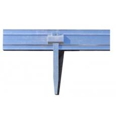 Borduras para jardín de aluminio