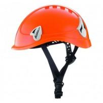 Casco de protección para trabajos en altura
