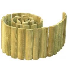Bordura redonda de pino
