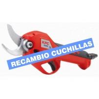 Cuchillas recambio para tijera KPC KS 2000