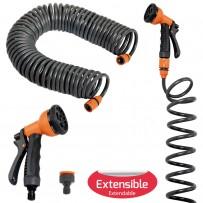 Kit manguera espiral con accesorios