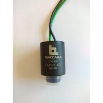Solenoide latch 9V DC para válvulas Baccara