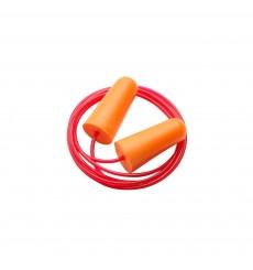 Tapones antiruido espuma desechables con cordón