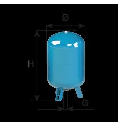 Calderín a membrana serie vertical CIMM