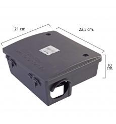 Caja Protege Cebos para Trampas