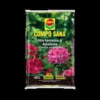 Sustrato COMPO SANA hortensias y azaleas