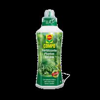 Fertilizante líquido plantas verdes COMPO