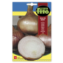 Cebolla colorada de conservar Roja de Niort