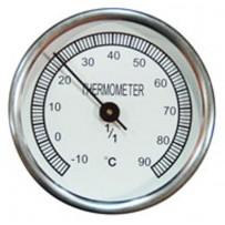 Termómetro compostaje. Metálico