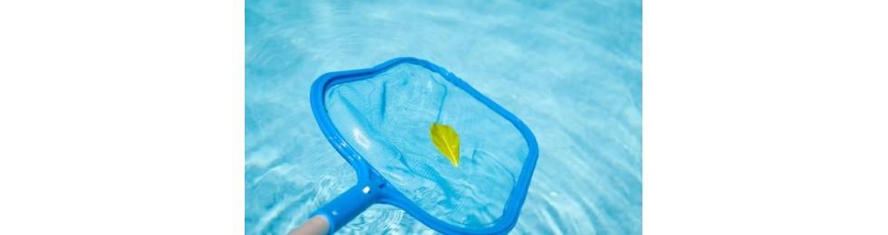 Material limpieza piscinas
