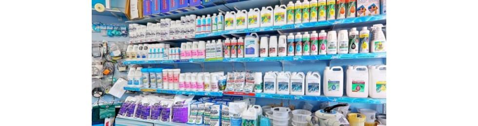 Productos químicos para piscinas
