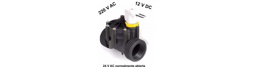 Electroválvulas para aplicaciones especiales