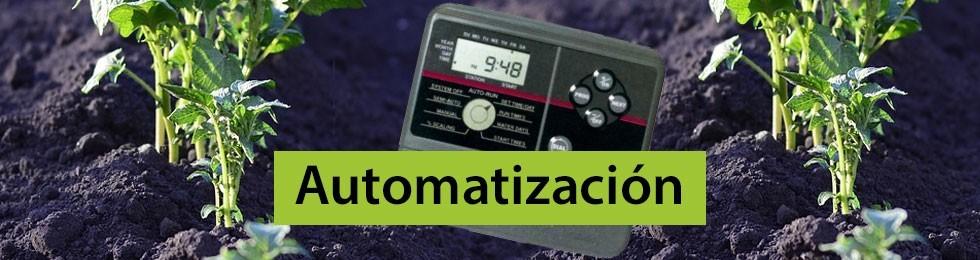 Automatización riego